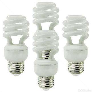 14 Watt - CFL - 60 W Equal - 5000K - 4 Pack