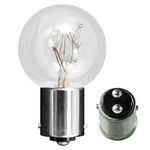 Eiko 41079 - EI-722 Mini Indicator Lamp - 30 Watt - 120 Volt - S9.5 Bulb - DC Bayonet Base