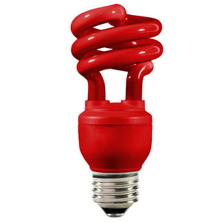 Energy Miser FE-IIS-13W-R - Red Party Light - CFL