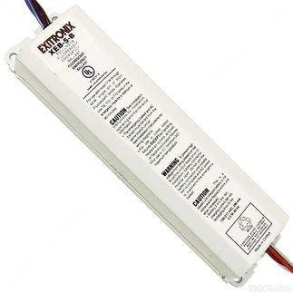Exitronix XEB-5-B - Emergency Backup Battery - 90 min. - Operates Most 2 ft. - 4 ft. Single, Bi-Pin, T8 and T12 Lamps - 120/277 Volt