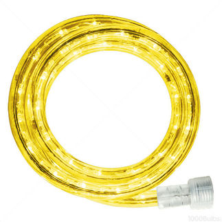 30 ft. Yellow LED Rope Light Kit