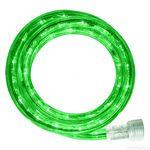 30 ft. Green LED Rope Light Kit