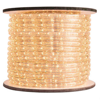 Warm White (Clear) Rope Light | Chasing | 148 ft. Spool