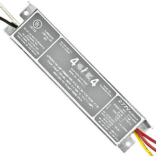 Fulham Workhorse 4 WH4-277-L - 277 Volt - Instant Start - Ballast Factor 0.87 - Power Factor 90% - Min. Temp. Rating -20 Deg. F - Operates (1) F14T8 Fluorescent Lamp
