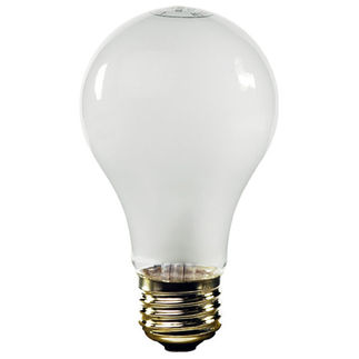 100 Watt - A21 - Frosted - 120 Volt - 5,000 Life Hours - Medium Base - SLI Lighting 60551