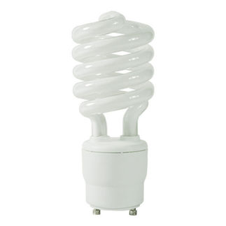 26 Watt - 100 W Equal - Cool White 4100K - CFL Light Bulb - GU24 Base - Global Consumer Products 085 GU24 CFL