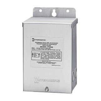 Intermatic PX300S - 300 Watt - Low Voltage Safety Transformer - Stainless Steel