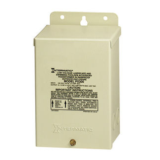 Intermatic PX300 - 300 Watt - Low Voltage Safety Transformer - Steel - Bei