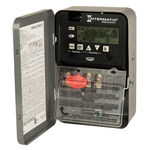 Intermatic ET8015C - 7-Day Electronic Astronomic Time Switch - NEMA 1 Indoor Steel Case - 1 Circuit - SPST - 30 Amps - 120/208/240/277 Volt