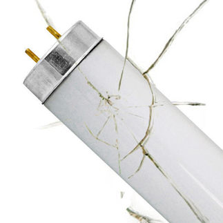 Shatter Resistant - F25T12/CW/28 - Cool White - Appliance Light Bulb - PLT 26197A