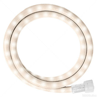 FlexiLight IF6B24PW - Incandescent - 24 ft. - Rope Light - Pearl White - 120 Volt - Includes Easy Installation Kit