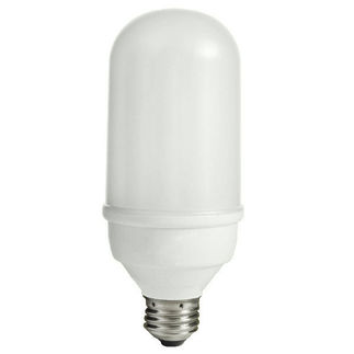15 Watt - Bullet Shape CFL - 60 W Equal - 5000K Full Spectrum - Min. Start Temp. 0 Deg. F - 80 CRI - 48 Lumens per Watt - 15 Month Warranty - Satco S7309