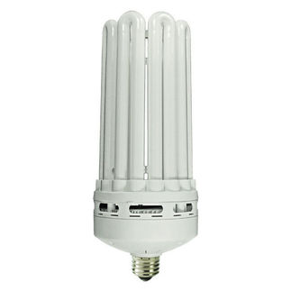 80 Watt - 5U CFL - 400 W Equal - 2700K Warm White - Min. Start Temp. 0 Deg. F - 84 CRI - 68 Lumens per Watt - 12 Month Warranty - MaxLite 11275 CFL Light Bulb