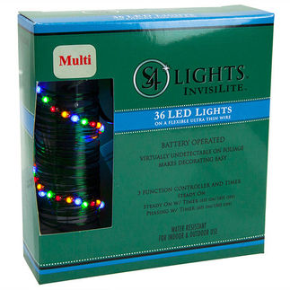 36 LED - InvisiLite String Light - Battery-Operated