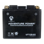 UPG 43021 - OEM YT12B-BS - Motorcycle Battery - Dry Charge AGM - 12 Volt - 10 Ah Capacity - K Terminal