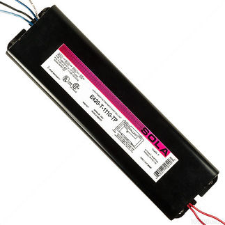Sola E-420-T-1110-TP - (1) Lamp - F96T12 - 277 Volt - Rapid Start - 0.94 Ballast Factor