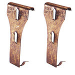 Brick Clip - Queen Size - For Hanging Wreaths, Garland and Christmas Lights - Superior Holiday Lighting 31166