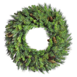 3.5 ft. Wreath - Green - Cheyenne Pine - Unlit