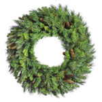 12 ft. Wreath - Green - Cheyenne Pine - Unlit