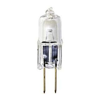 Ushio 1000811 - 10 Watt - T3 - G4 Base - Halogen - Clear - 2,000 Life Hours - 140 Lumens - 12 Volt