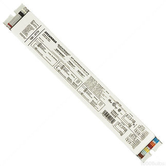 Sylvania Quicktronic 49161 - 120/277 Volt - Programmed Start - Ballast Factor 1.0 - Power Factor 98% - Min. Temp. Rating 0 Deg. F - Operates (3 or 4) F54T5/HO Fluorescent Lamps
