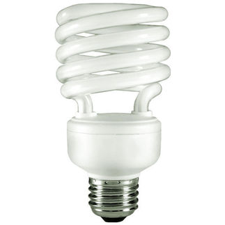 26 Watt - CFL - 100 W Equal - 2700K Warm White - 120V