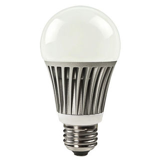 8 Watt - Dimmable LED - A19 - Warm White - 435 Lumens - 35 W