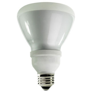 8 Watt - Dimmable R30 CCFL - 45 W Equal - Warm White