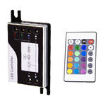 Controller and IR Remote for 24 Volt Color Changing RGB LED Tape Light