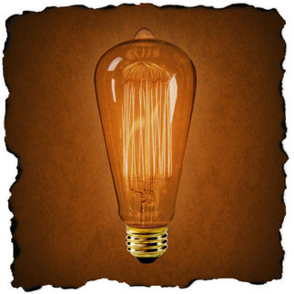 Vintage Antique Edison Style Light Bulb