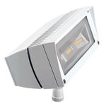 RAB FFLED18DCW - 18 Watt - LED - Landscape Lighting - Flood Light Fixture - 12/24 VDC - White Finish