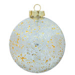 Mercury Ball Christmas Ornament - Shatterproof - 3.94 in. - Gold - 4 Pack