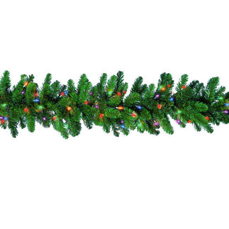 9 ft. Christmas Garland - Northern Branch - 150 Lights - Barcana 85-100-169-02
