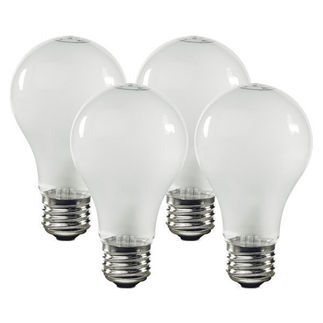 Sylvania 12770 | 100 Watt A19 Bulbs | 750 Life Hours | Frosted