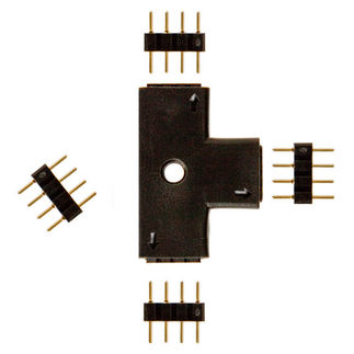 T Shape Connector for 24 Volt LED Tape Light