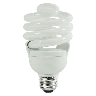 SYLVANIA 29792 - 30 Watt - CFL - 125 W Equal - 2700K Warm White - 82 CRI - 67 Lumens per Watt - 15 Month Warranty