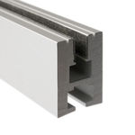 39.4 in. Non-Anodized Aluminum Mounting Channel - EX - ALU LED Profile - For LED Tape Light - Klus B1890