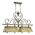 Quorum 6575-4-87 - Island Pendant - 4 Light - Byzantine Bronze Finish