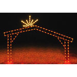 9.6 ft. x 13.1 ft. - C7 LED - Nativity Scene Stable - 120 Volt