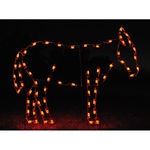 4.1 ft. x 5.3 ft. - C7 LED - Nativity Scene Standing Donkey - 120 Volt