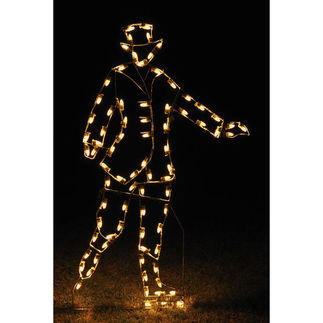 6.75 ft. - C7 LED - Victorian Skater Man - 120 Volt