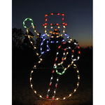 6.8 ft. - C7 LED - Animated Waiving Snowman - 120 Volt