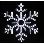 3 ft. - Cool White - LED Rope Light - Hanging Snowflake - 120 Volt