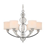 Golden Lighting 1030-6 CH - Modern Chandelier