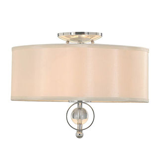 Golden Lighting 1030-FM CH - Modern Flush Mount