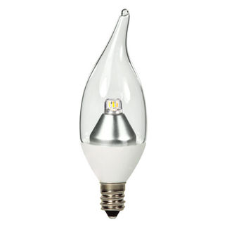 3W Decorative LED Torpedo - 2700K Warm White 25W Equal