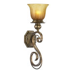 Quorum 5439-1-62 - Wall Sconce - 1 Light -  Autumn Dusk