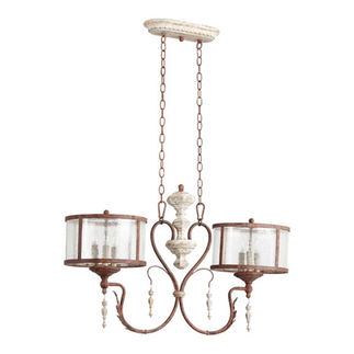 Quorum 6552-6-56 - Island Pendant - 6 Light - Manchester