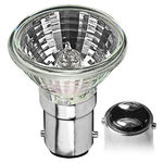 35 Watt - MR11 - 12 Volt - GDZ Flood - Double Contact Bayonet Base - Glass Face - Halogen Light Bulb - Ushio 1000660
