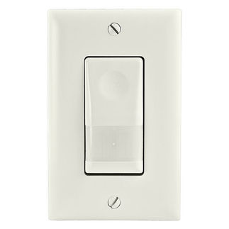 Watt Stopper - Legrand WN-100-277-W - 0-1200 Watts - Occupancy Sensor Wall Switch w/ Night Light - White